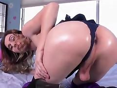 shemale fucked hard and cums hard