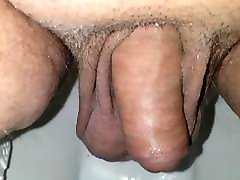 Small cock pee