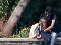 Desi couple having blowjob and fingering in fuck 5 girls park