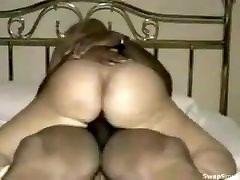 Mature BBW rides BBC to multiple orgasms