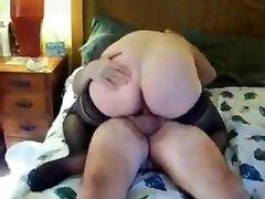 Crazy homemade Big Tits, BBW porn movie