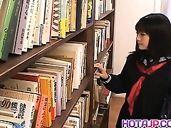 Misaki Saya Sltty indian urdo xxx School big sex with big tit Masturbates In The Library