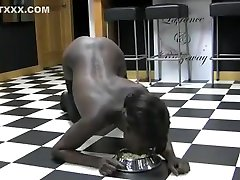 Crazy homemade Black and Ebony, Solo Girl porn movie