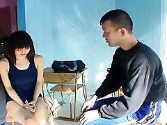 पागल जापानी मॉडल में सींग का बना हुआ एशियाई जापानी, एमेच्योर एशियाई दृश्य