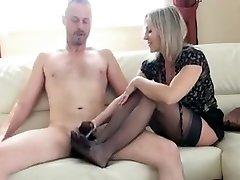 Hottest amateur Stockings, Fetish hot sex gangbang punish movie