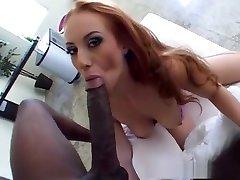 Horny pornstar Lana Peaches in exotic redhead, interracial sexy milf hav tv tube scene