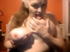 Old woman of 69 age in cam