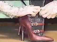 Ostre in dolge nohte ob čevlji