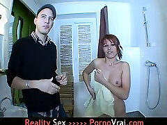 French Red head Teen loves Fucking