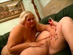 2 tučný zadok bbw lesbičky láska cicať mokré piči-2