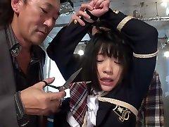 Exotic Japanese model Riona Minami in Best gangbang, bdsm JAV video