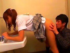 Licking asian schoolgirl - 4