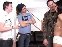 Best pornstar Mandy More in incredible group sex, gangbang porn clip