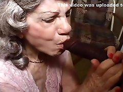 Granny Gigi Sucks Off The Black Plumber