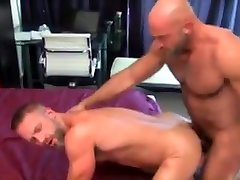 Horny gay clip with Muscle, Bears scenes