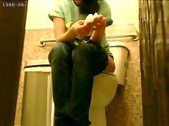 korejas fast food darbinieku slēptās cam vannas istaba