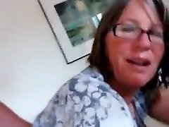 Husband fucking his BBW tickle craze Granny Wife in Ass