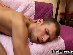 Nasty anal fuck me daddy felching and sharing