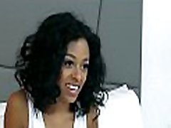Ebony cutie is pleasured to maximum