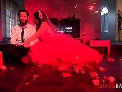 Dirty bride SiouxsieQ hardcore gangbanged