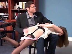 Nylons otk spanking