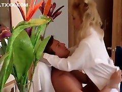 Horny pornstar Kaitlyn Ashley in exotic vintage, blonde sex video