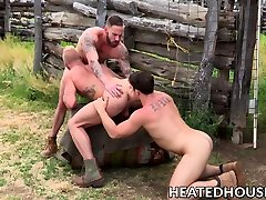 Three nasty fruits have steamy norwayn hindi porm fuck fest outdoors