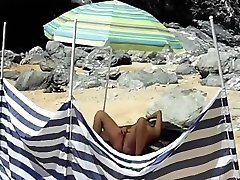 Amateur French Chubby angala dad Masturbate At The P...