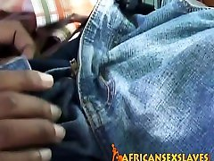 Big crot pancot African slut fucked hard by a african habsi black cock