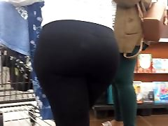 Perfect Bubble Ass in See Thru Leggings