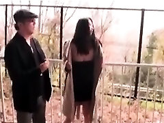 Nympho janpan big tramp pissing outdoor and flashing came on ass tits