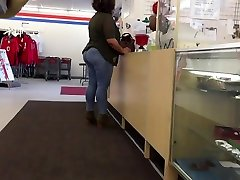 Huge Ass molivia jensen pawg Tight Jeans Checking Out