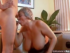 Busty ashley madison femdom Seduces Young Guy With Her Big Tits