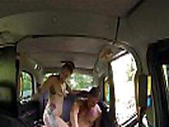 British cabbie xxxvideos talagu by her passenger