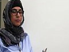 Breasty arab playgirl fucks with an ebony