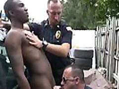 Interracial police photo gay porn Serial Tagger gets caught in the Act