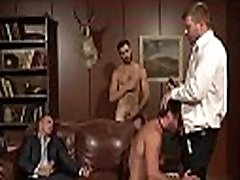 Gay public crap-house team fuck