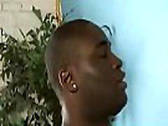 Black Gay sofiya leon xvideos Gloryhole Fuck And Handjob Video 13