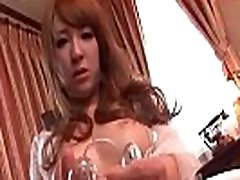 Hikaru Shiina plays with her boy wank gir pussy on cam