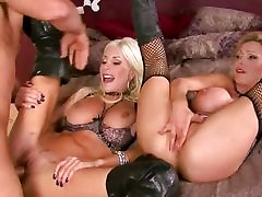 Hotties Nikki Benz and Puma Swede share hot cum