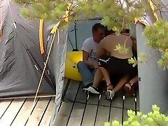 Bareback Camping Orgy Gangbang