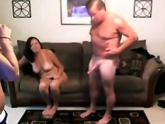 Teen with rico strong too big couple at home