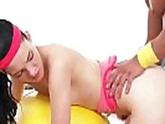 ungdoms stramt teen har trening orgasmeanie darling 03 klipp-20