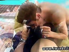 Speedos gay twink boy tube Shane & Mike Smoke Sex!