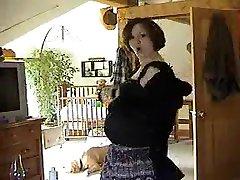 Exotic homemade Pregnant, Solo Girl all odia im clip
