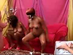 Crazy homemade Black and Ebony, Fetish porn video