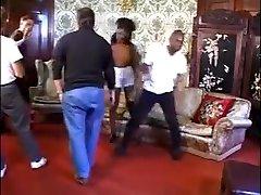 Horny amateur Threesomes, Black and Ebony xxx scene
