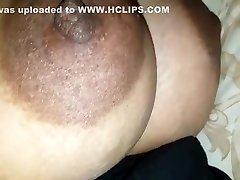Big Boob Aunty Jerking Cock