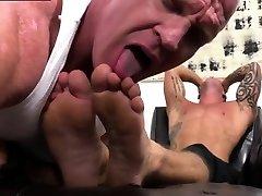 Gay feet step son long desire movie Dev Worships Jason James Manly Feet