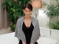 Exotic Japanese model Nozomi Aso in Hottest Fingering, Secretary JAV movie